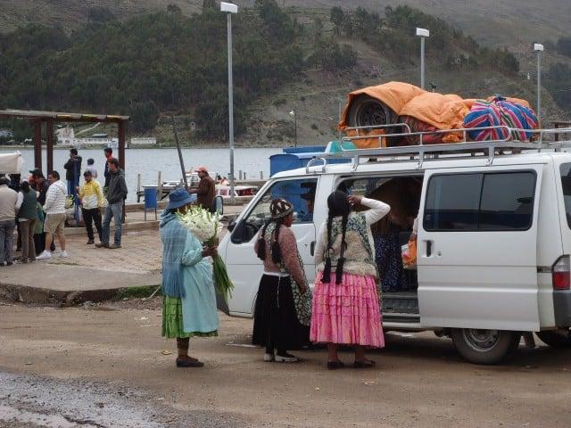 minibus colectivo bolivia