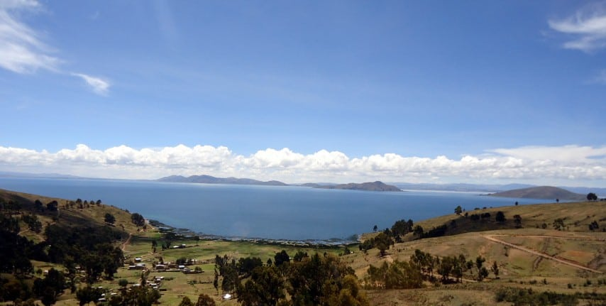 jazero titicaca, bolivia