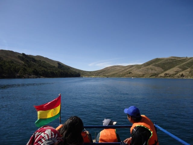 lod titicaca splavovanie